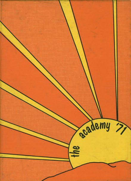 1971 St. Joseph's Academy Yearbook Cover