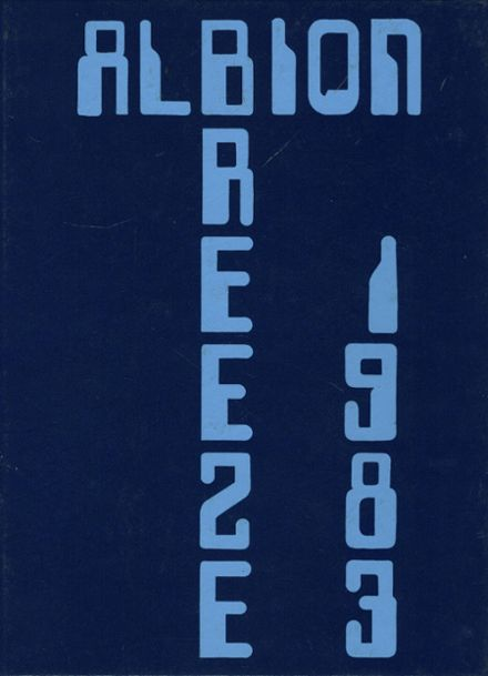 1983 Albion High School Yearbook Cover