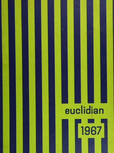 1967 Euclid High School Yearbook Cover
