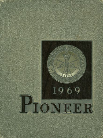 1969 Somerville High School Yearbook Cover