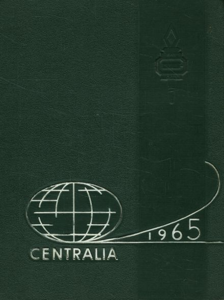 1965 Bay City Central High School Yearbook Cover