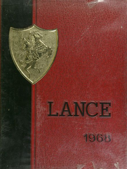 1968 Wheaton High School Yearbook Cover