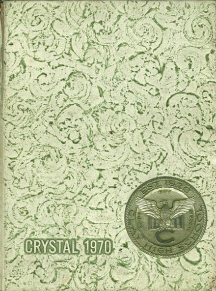 1970 Clay High School Yearbook Cover