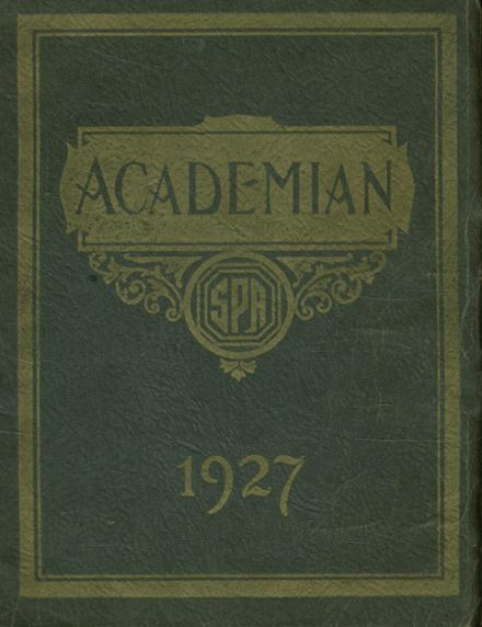 1927 St. Patrick's High School Yearbook Cover