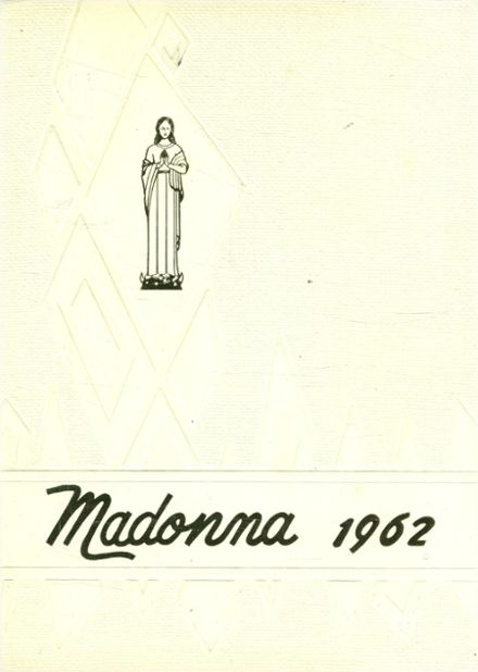 1962 St. Mary's Academy Yearbook Cover