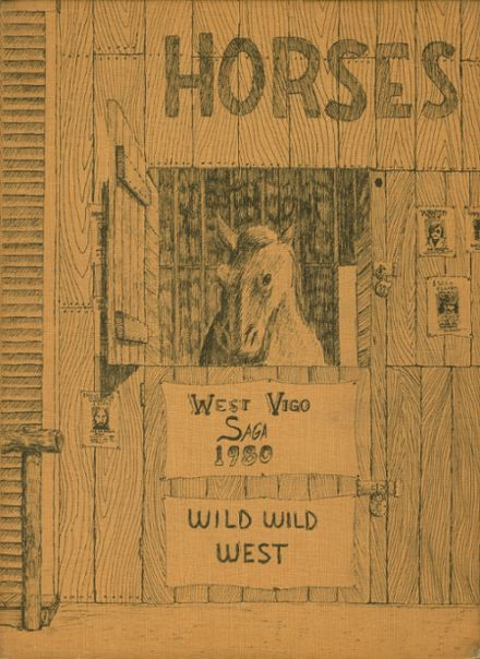 1980 West Vigo High School Yearbook Cover