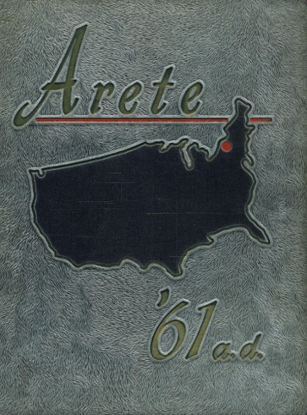1961 Aquinas Institute Yearbook Cover