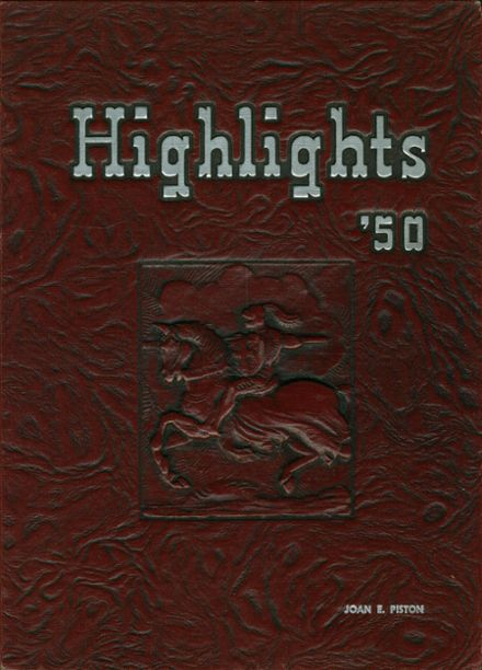 1950 Lansdale High School Yearbook Cover
