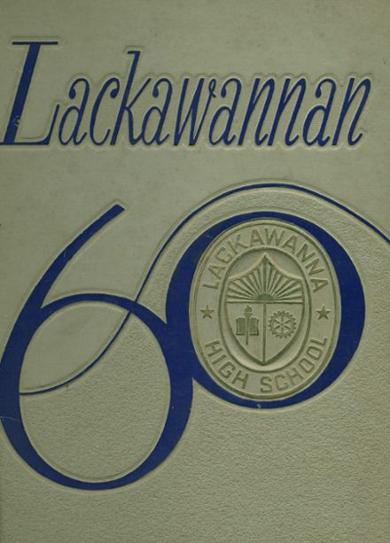 1960 Lackawanna High School Yearbook Cover