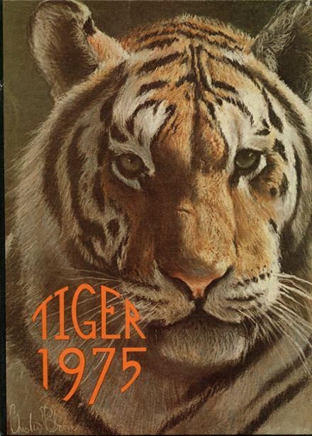 1975 Huron High School Yearbook Cover