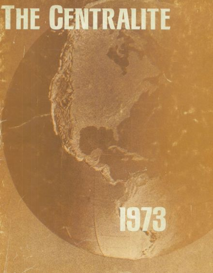 1973 Central High School Yearbook Cover