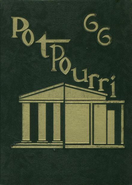 1966 Placer High School Yearbook Cover