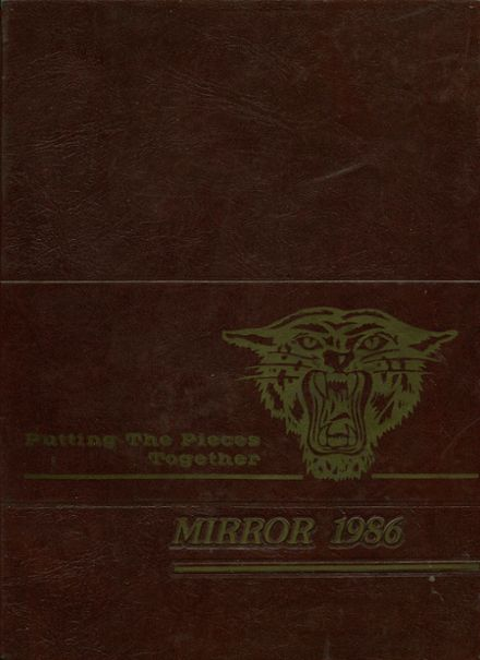 1986 Norwich Free Academy Yearbook Cover