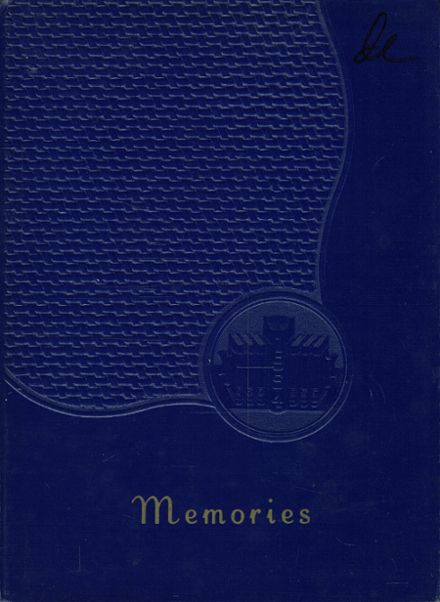 1954 St. Francis Academy Yearbook Cover