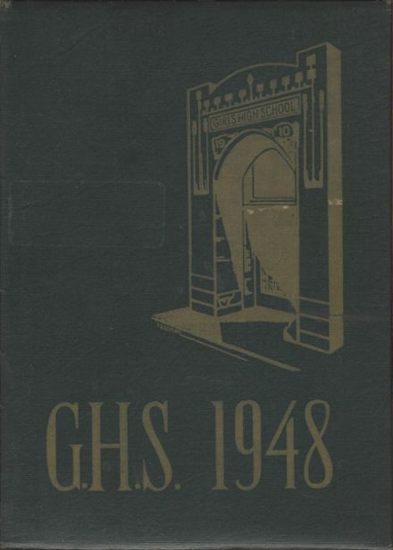 1948 Girls' High School Yearbook Cover