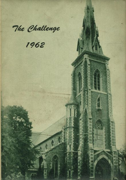 1962 St. Joseph's Academy Yearbook Cover