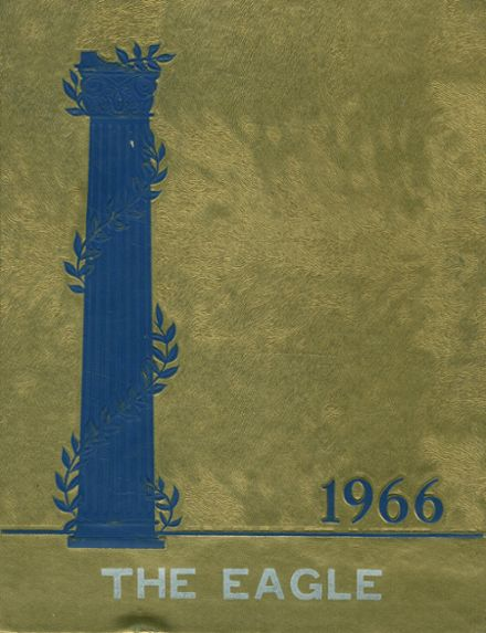 1966 St. Joseph's Academy Yearbook Cover