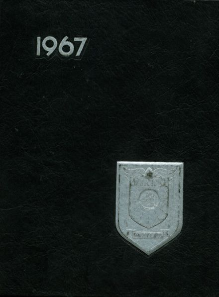 1967 Grayling High School Yearbook Cover