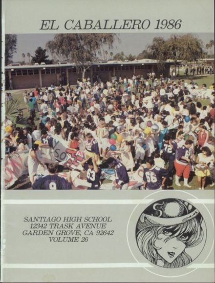 Explore 1986 Santiago High School Yearbook Garden Grove Ca Classmates