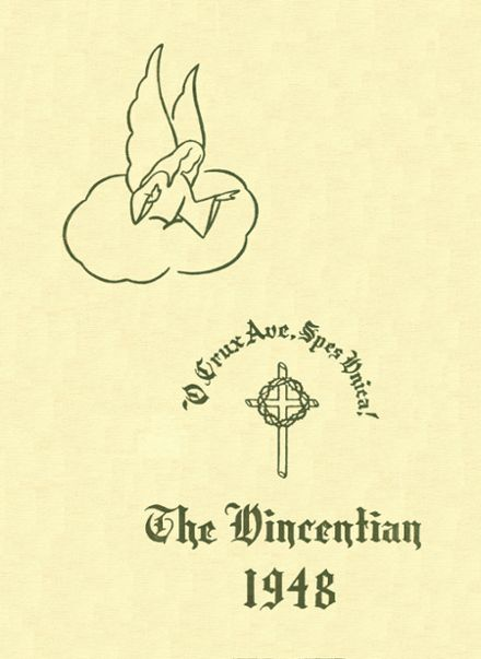 1948 St. Vincent's Academy Yearbook Cover