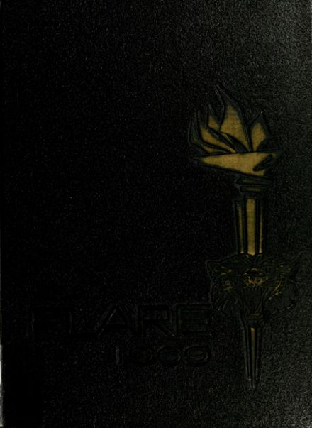 1969 Conroe High School Yearbook Cover