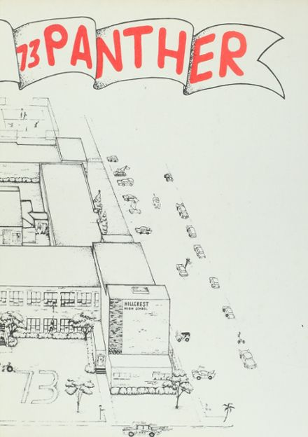 1973 Hillcrest High School Yearbook Cover