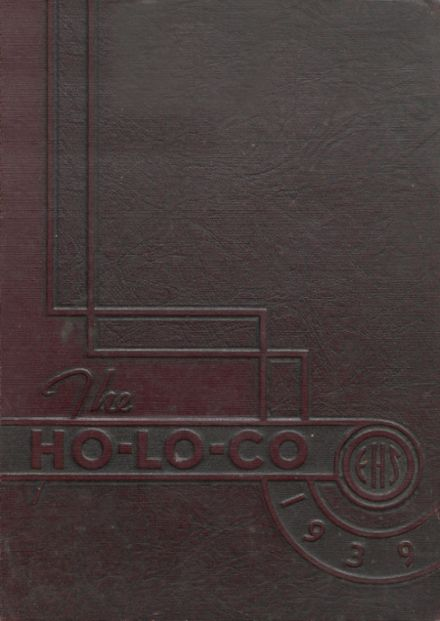 1939 Estherville High School Yearbook Cover