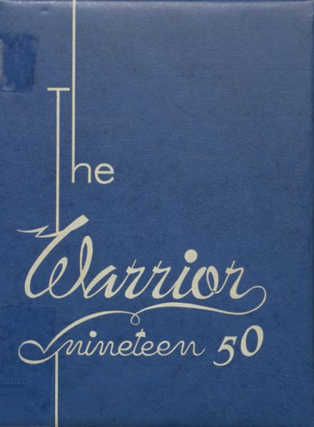 1950 McHenry Community High School Yearbook Cover