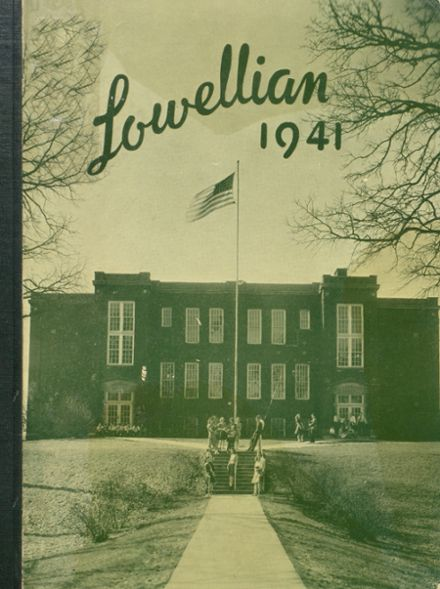 1941 Lowell High School Yearbook Page 1