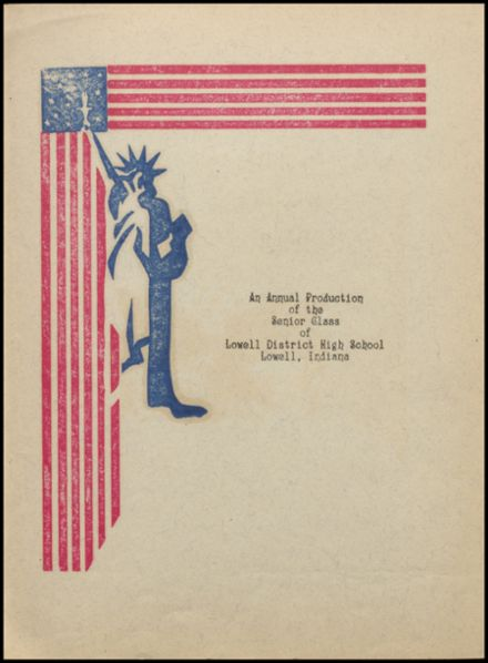1941 Lowell High School Yearbook Page 7