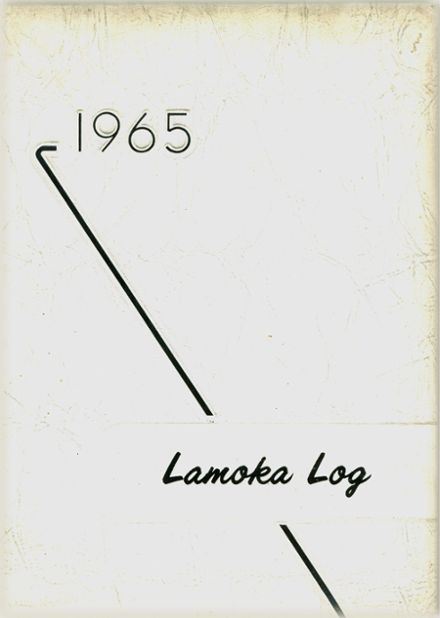1965 Bradford Central High School Yearbook Cover
