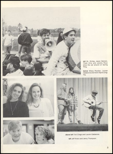 1991 Dover High School Yearbook Page 7