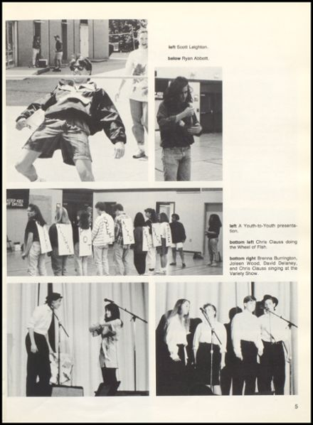 1991 Dover High School Yearbook Page 9