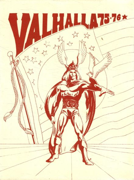 1976 Valley High School Yearbook Cover