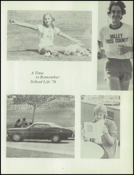 1976 Valley High School Yearbook Page 9