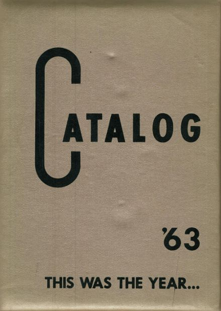 1963 Lake Charles High School Yearbook Cover