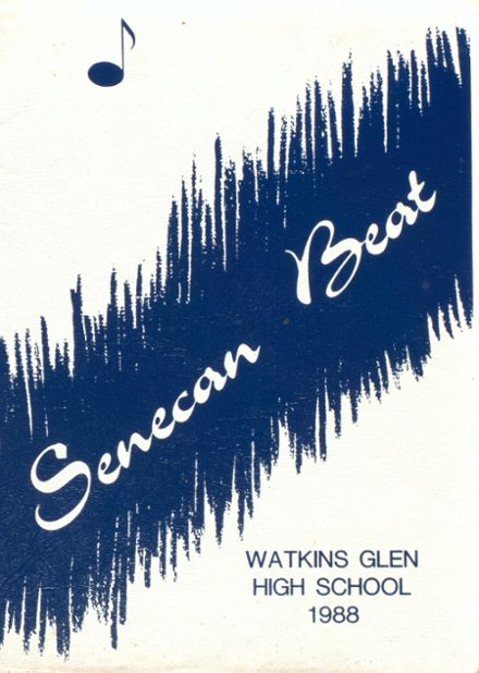 1988 Watkins Glen High School Yearbook Cover
