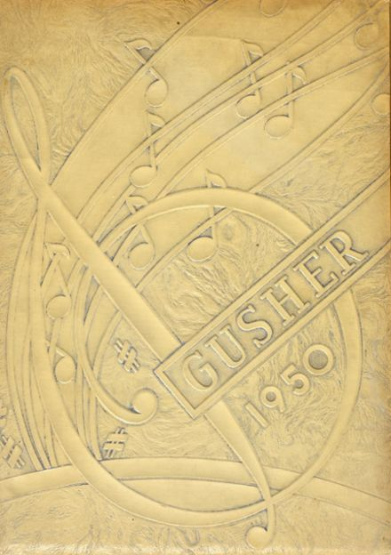 1950 Shidler High School Yearbook Cover