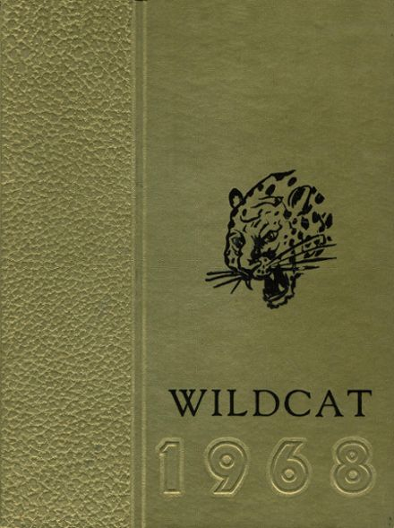 1968 Calamus/Wheatland High School Yearbook Cover
