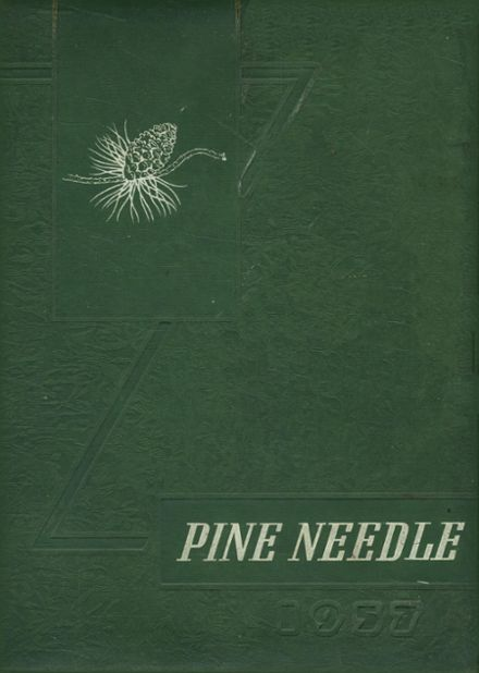 1957 Pine Level High School Yearbook Cover