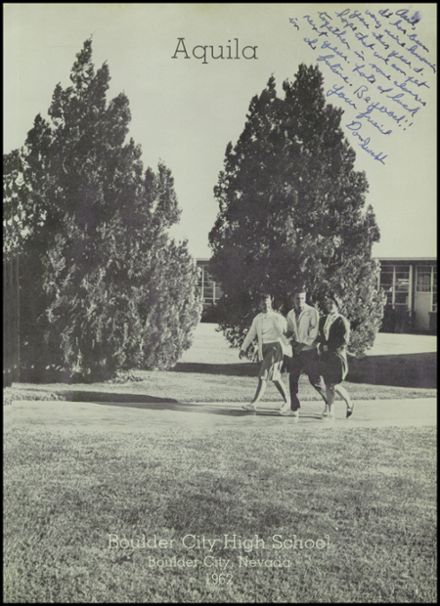 1962 Boulder City High School Yearbook Page 5