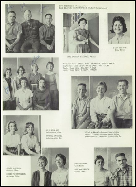 1962 Boulder City High School Yearbook Page 9