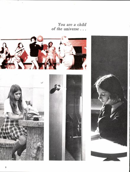 1972 Presentation High School Yearbook Page 6