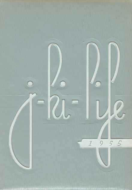 1955 Jefferson Area High School Yearbook Cover