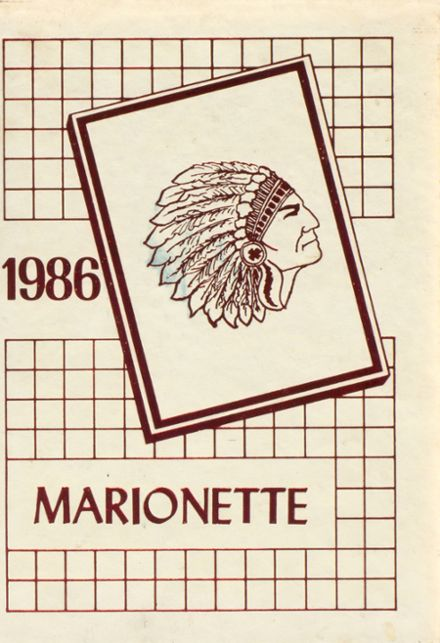 1986 Marion County High School Yearbook Cover