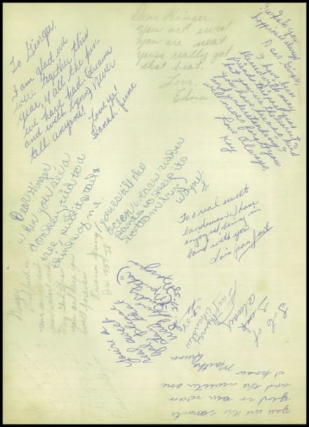1958 Owasso High School Yearbook Page 4