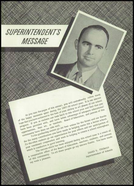 1958 Owasso High School Yearbook Page 9