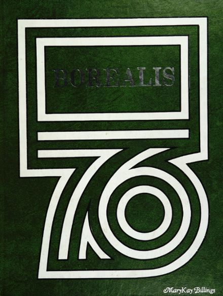 1976 Aurora Central High School Yearbook Cover