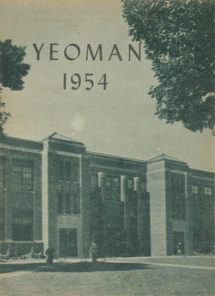 1954 Freeborn High School Yearbook Cover
