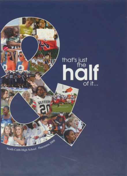 2008 North Cobb High School Yearbook Cover